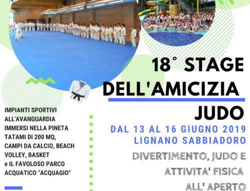 18° STAGE DELL'AMICIZIA JUDO 2019